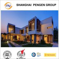 Luxury prefabricated light steel frame Villa/ House