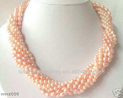 pink pearl NECKLACE M5560