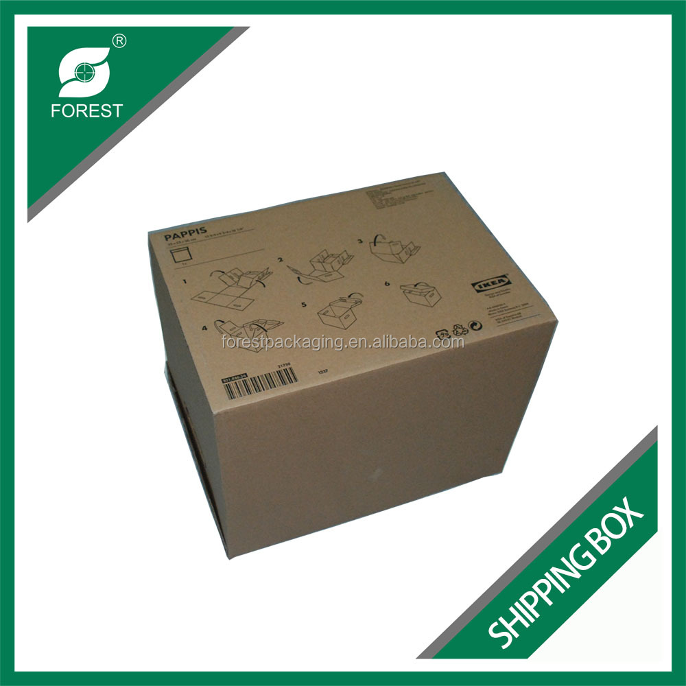 MOST POPULAR CORRUGATED CUSTOM PRINTED PAPER BOX PACKAGE