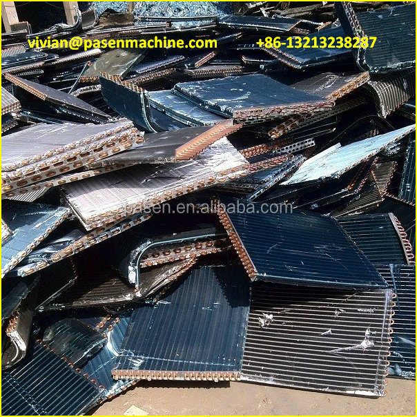 Scrap Metal Recycling Machine, Radiator Separator, Copper Wire Recycling Machine