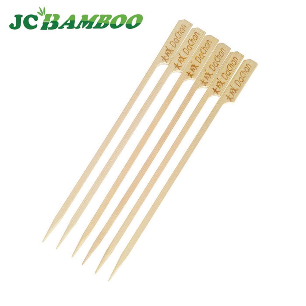 Custom Low Price Wholesale Eco-friendly Seafood Healthy Teppo Bamboo Skewer