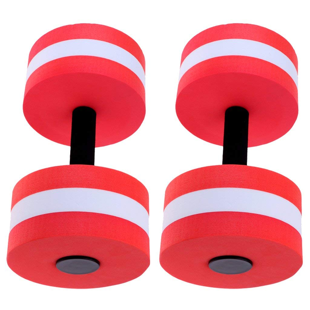 d8d93f3c044 Get Quotations · Baosity Water Dumbbells, Aquatic Hand Buoy, Aquatic  Workout Barbells Foam Dumbells (Pair)