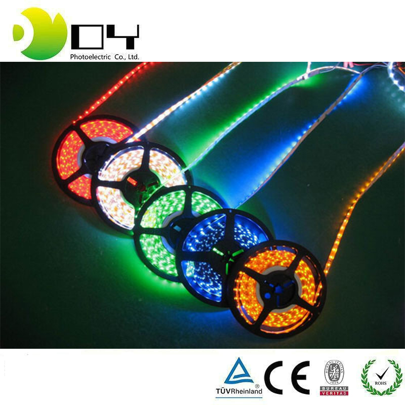 LED wholesalers 16.4 Feet (5 Meter) Flexible LED Light Strip with 300x SMD3528 and Adhesive Back, 12 Volt,