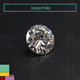China cheap price 6.5mm 1carat round shape Brilliant cut Synthetic loose diamond stone black moissanite