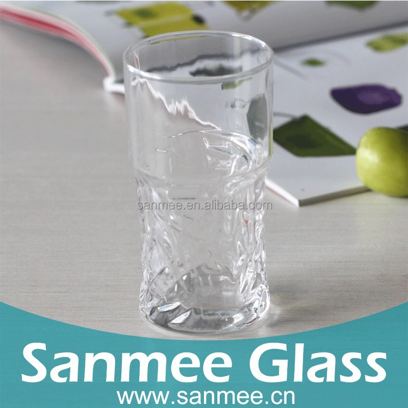 2017 Special Design Attrictive House Use Juice Glass Cup from sanmee glassware