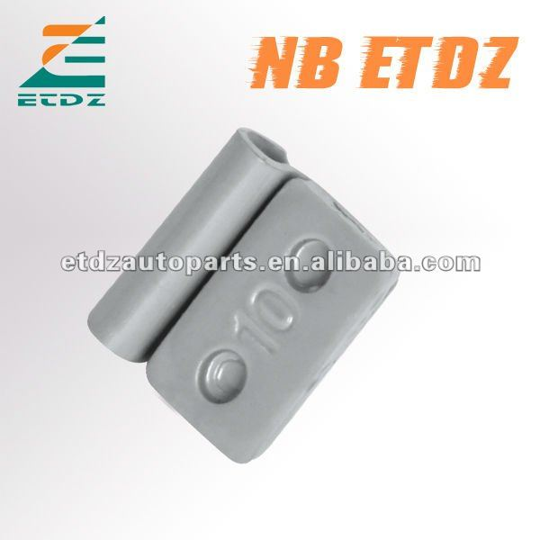 Fe Steel Coating With Two Holes Wheel weights clip on balance weight