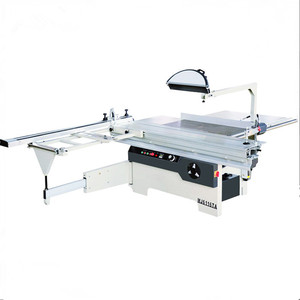 horizontal sliding table saw machine for making MDF board