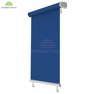 French style awnings outdoor Waterproof vertical Roller bilnd awnings for window