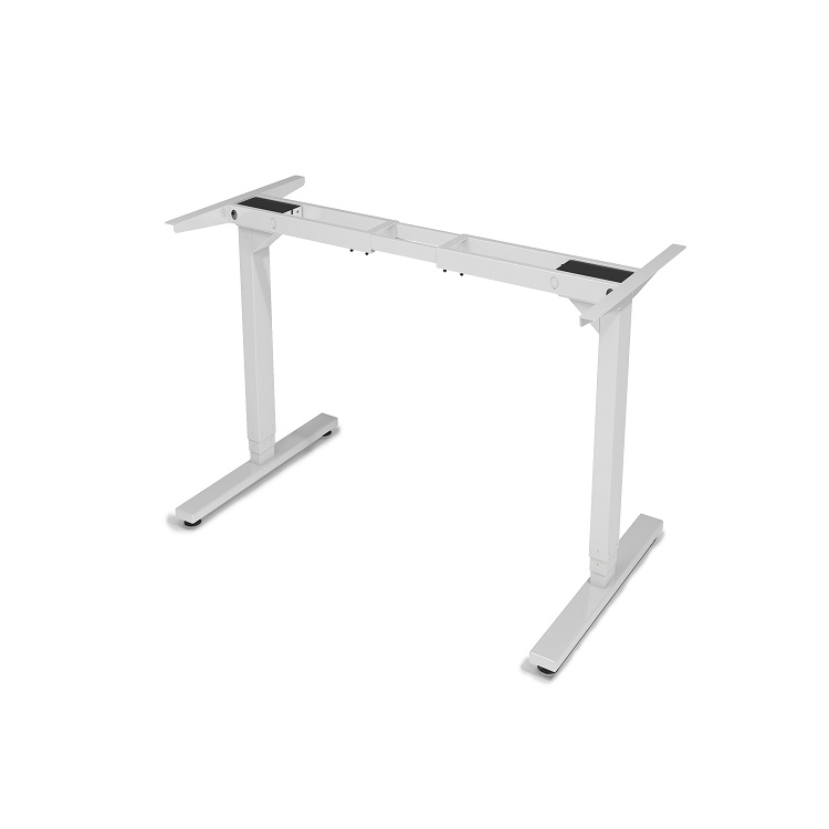 Metal legs lifting tables for study, office and computer, manual and electric height adjustable desk