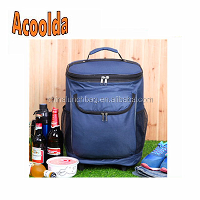 Picnic Rod Insulation Backpack Freezer Outdoor Travel Ice Bag Product On
