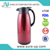 Color body double layer glass liner eco thermo vacuum jug pot (JGFL)