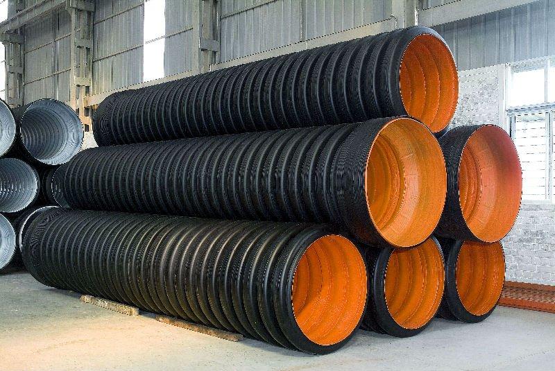 Corrugado de doble pared hdpe tubos otros productos de - Precio tuberia polietileno ...
