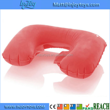 High Quality Promotional Inflatable Airplane Cushion U Shaped