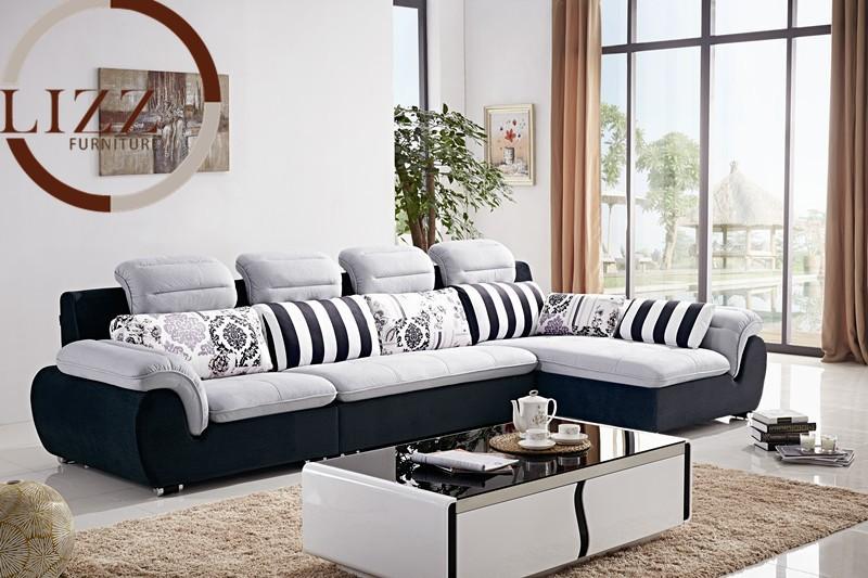 Mexico Home Fabric Sofa Set B1039 # Living Room L shaped