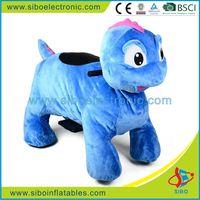 GM59 racing game dinosaur costume zoo animal plush ride for sale