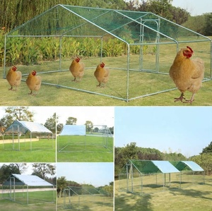 Chicken Run available Sizes suitable for Hens Dogs Poultry Rabbit Ducks Coop Chickens