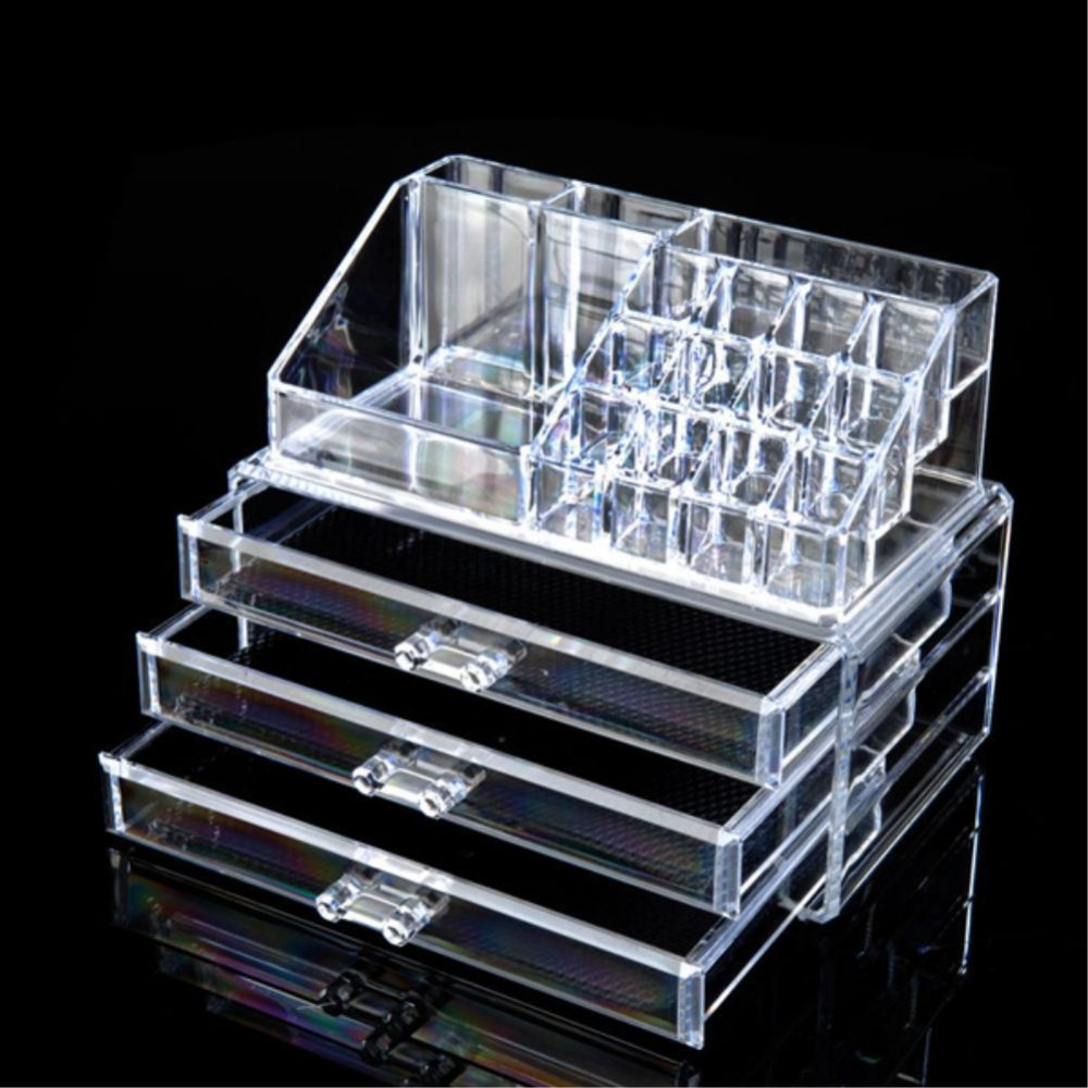 Online Get Cheap 3 Drawer Acrylic Makeup Organizer