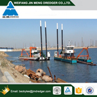 China Cheap River Sand Dredge with Cutter Head Dredging Machine