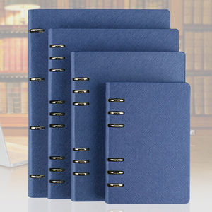 RuiZe 2017 pu leather notebook A5 A6 B5 A4 big spiral notebook planner agenda organizer hard cover loose leaf note book