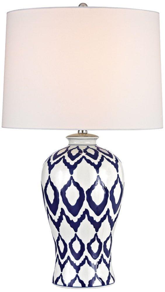 Dimond D2921 Kew Table Lamp, 1-Light 150 Watts, Blue