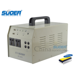 Suoer Factory 500W 12V 24A Solar Home Use Power Inverter Solar Power Generator System