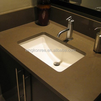Custom sizes commercial bathroom sink countertop buy one - Custom bathroom countertops with sink ...