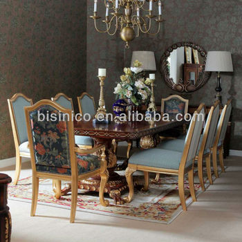 Antique Luxury Windsor Style Dining Set, Dining Room/Kitchen Furniture, Dining  Table U0026