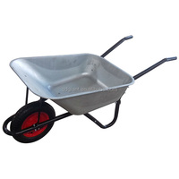UK market best quality 72liters farm tools and names WB5010 wheel barrow