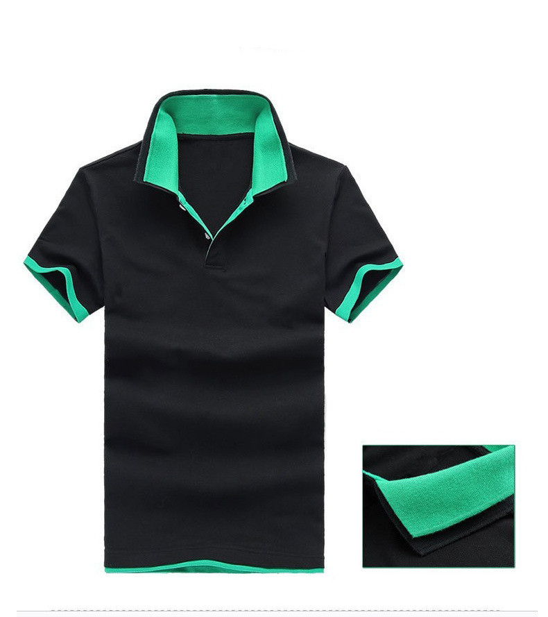 11cdc9e9381 Get Quotations · 2015 Summer Men s Solid Polo Shirts Causal Collar Short  Sleeve Breathable Cotton Men Golf Tennis Sportwear