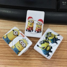 Wholesale Quality Vr2 Despicable Me Minions MP3 Music Player with TF Card Slot for leisure (no accessories)
