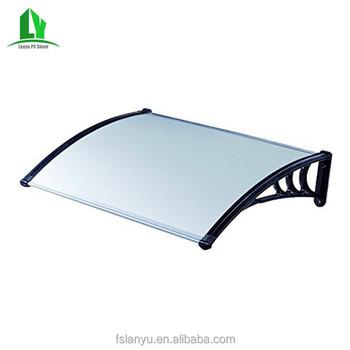 Plastic Awnings Material Retractable Free Standing Door ...