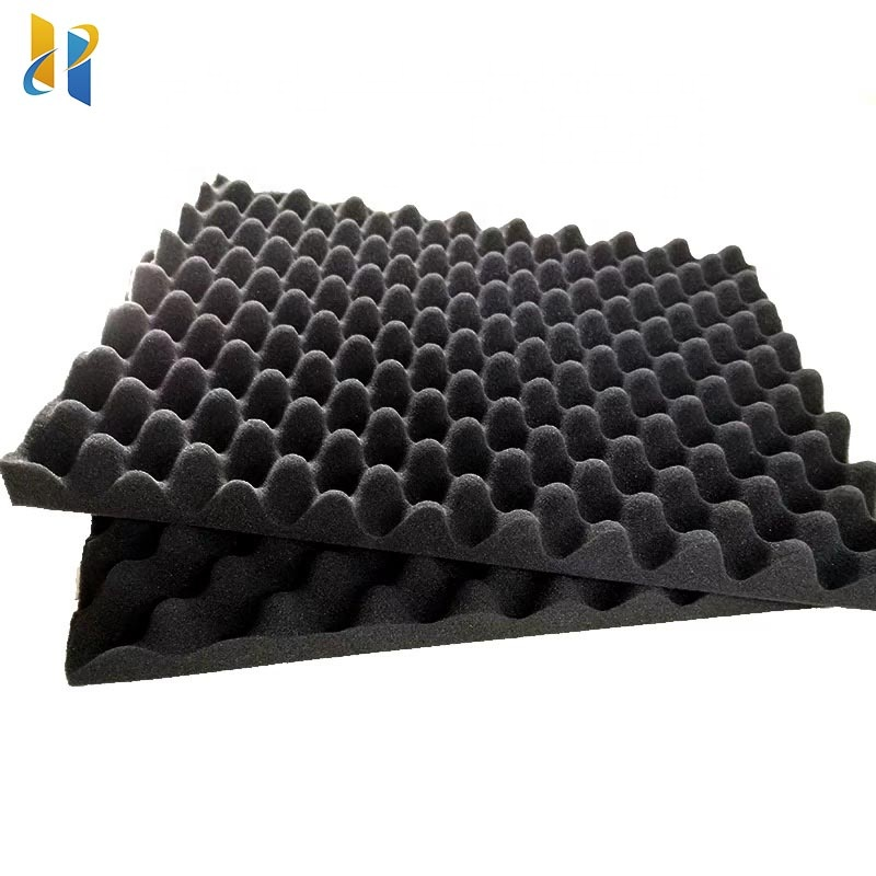 Hot Sale Egg Crate Sound Absorption Acoustic  sponge  box Foam