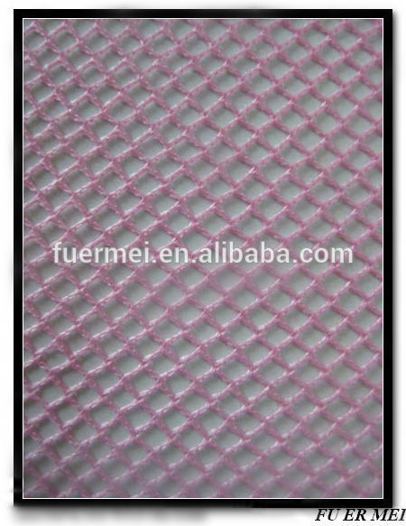 Square mesh hole mosquito net fabric 50D