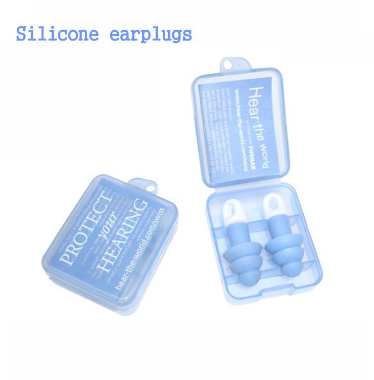 Силикагель затычки для ушей шум звуконепроницаемый затычки для ушей / сон затычки для ушей / наушники важно путешествие поездка