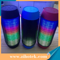 For IPod Mobile Phone 4.1 Computer Pulse Portable Bluetooth Speakers Streaming Mini Speaker with Built-in LED Light Show & Mic