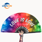Silk Folding Hand Fan Customized Folding Hand Fans Personalized Bamboo Custom Print Silk Folding Hand Fan