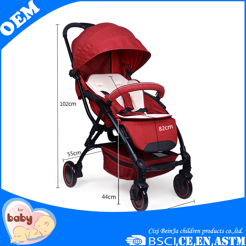 Top quality new design aluminium lightest baby stroller
