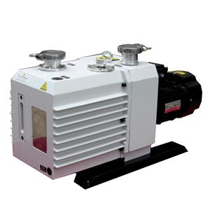 8 liter oil lubricated 2 stage sliding vane vacuum pump in freeze dry industry sold to Germany