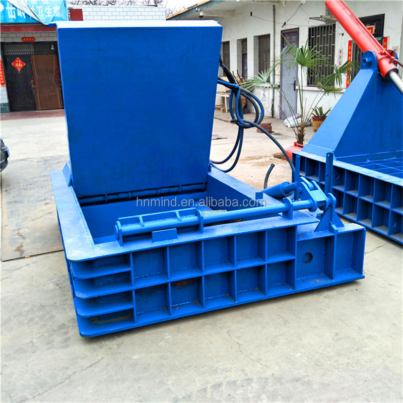 Heavy Scrap Metal Sheet Compactor Tin Can Press Machine