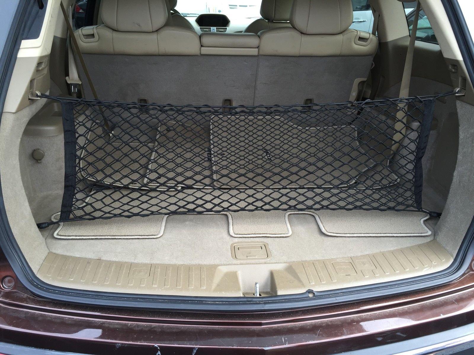 Envelope Style Trunk Cargo Net for Acura MDX 2007 - 2013 NEW