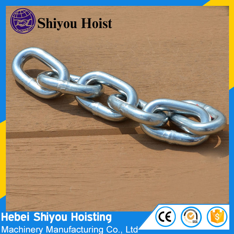 Customized Load lifting chian grade 80 stianless steel link chains