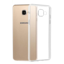 Popular Design TPU Transparent Protective Mobile Phone Back Cover Case for Samsung Galaxy A5 2017