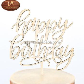Fine Custom Happy Birthday Cake Topper Any Name And Age Gold Glitter Or Personalised Birthday Cards Veneteletsinfo