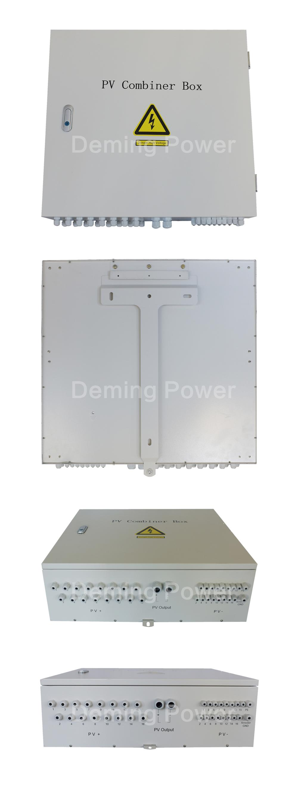 8 strings combiner box for solar power systems DC combiner box