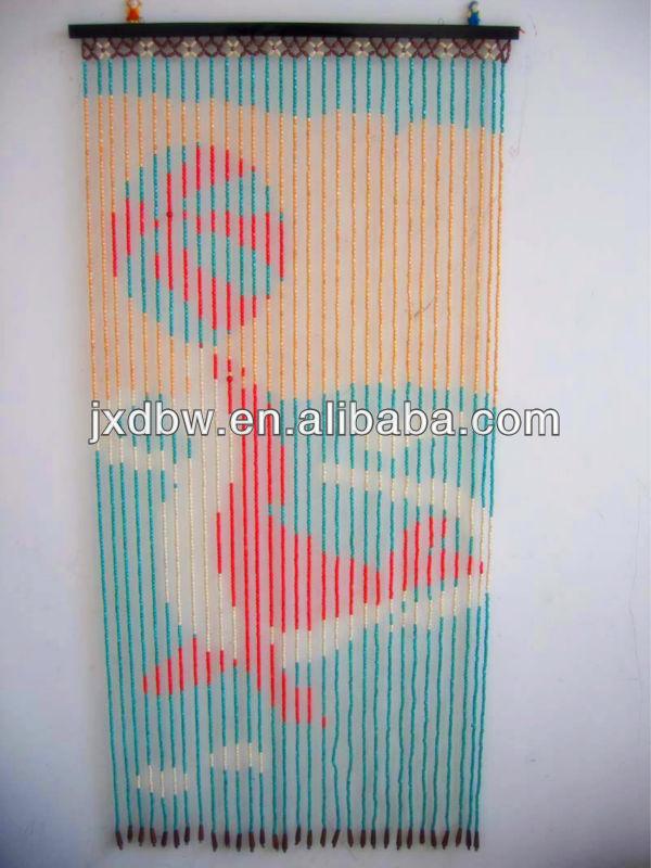 90x180 cm 31 cordes Bois Et Bambou Rideau De Perles-Autres ...