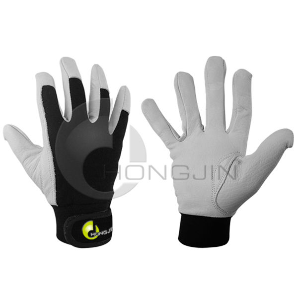 Soft Leather White Golf Winter Work Gloves