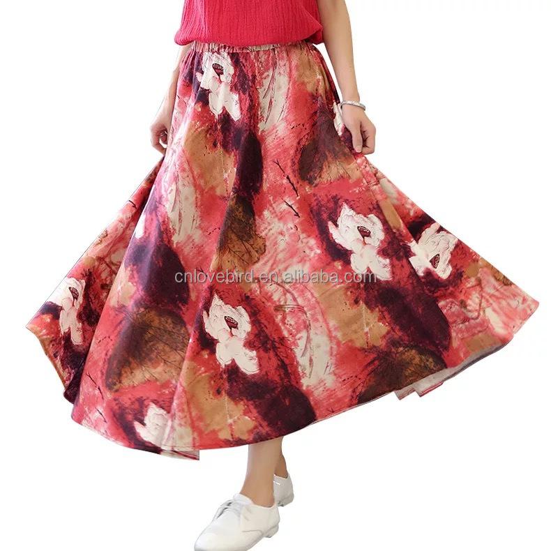 bdf30071e Venta al por mayor diseos de faldas modernas-Compre online los ...