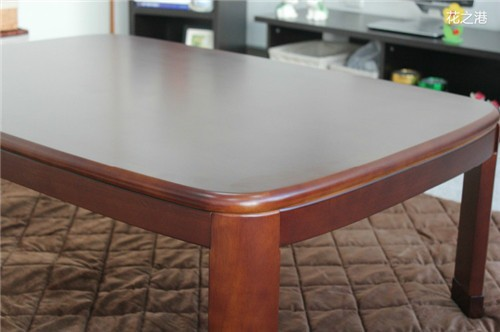 2019 Japanese Kotatsu Table Rectangle 120cm Walnut Color