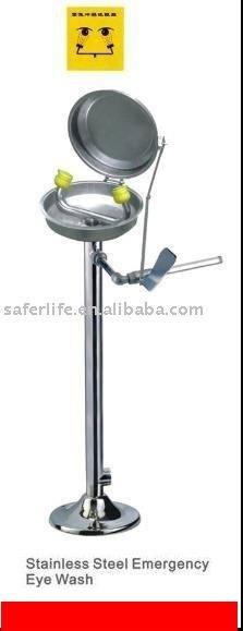 Stainless Steel Emergency eye Shower EYE Washer Safety shower