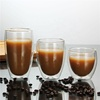 Double-Wall Insulated beer glasses double wall glass cup cafe latte glass
